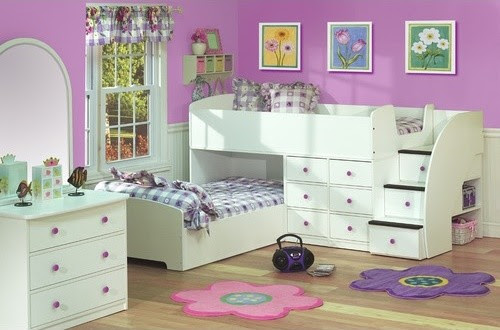 Sierra Full over Twin L-Shaped Bunk Bed with Stairs - modern ...
