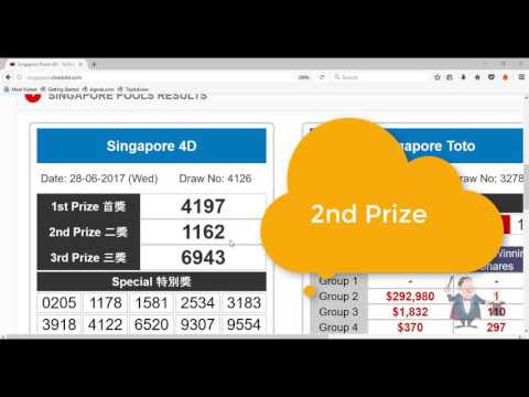 Uncle Kumar forecast tips Singapore 4D wins lucky number 1162 SECOND (2nd) prize podium SG Pools