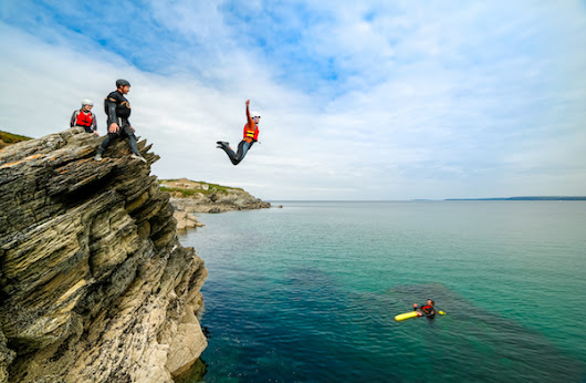 Coasteering Newquay | Coasteering Activities Cornwall | Cornish Wave, UK