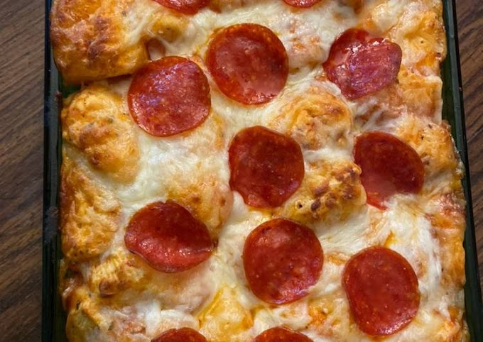 How to Prepare Appetizing Bubble up pizza