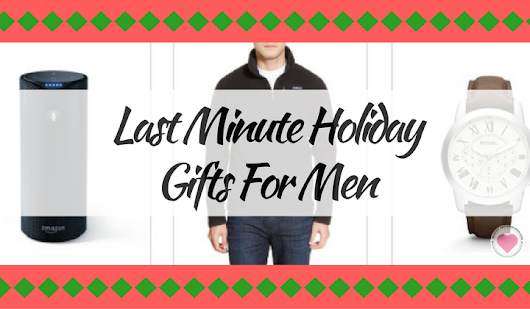 Last Minute Holiday Gifts for Men - Makeup Obsessed Mom