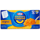 Kraft Macaroni & Cheese Dinner, Original Flavor - 12 pack, 2.05 oz cups