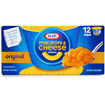 Kraft Macaroni & Cheese Dinner - Pasta - 2 oz - pack of 12
