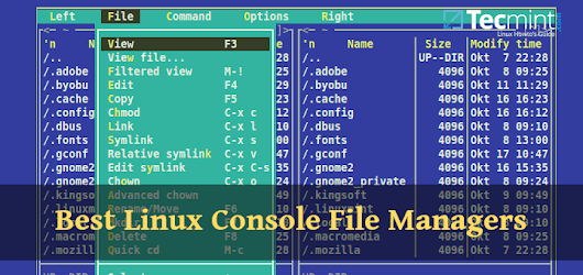 8 Best Linux Console File Managers