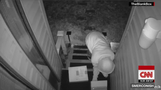 Thwarting 'porch pirates' from stealing holiday packages - CNN Video