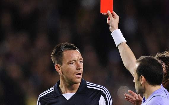 UEFA Champions League : John Terry - Cuneyt Cakir, FC Barcelona v FC Chelsea