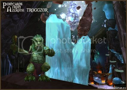 Postcards of Azeroth: Troggzor the Earthinator, by Rioriel Ail'thera of theshatar.eu