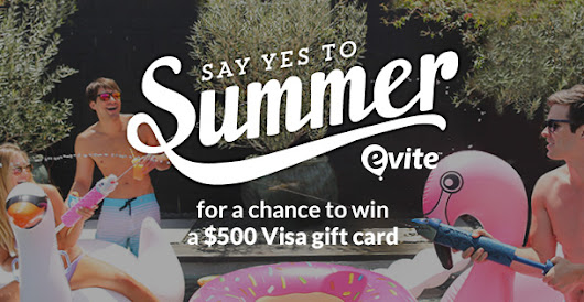 5 Ways to Say Yes to Summer + Enter to Win a $500 Visa GC