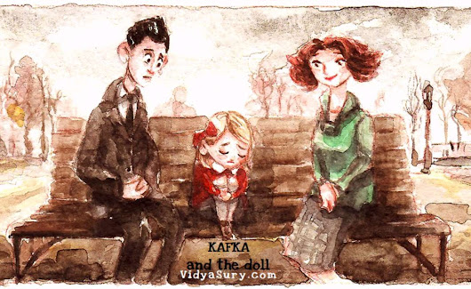 Kafka and the Doll | Vidya Sury, Collecting Smiles