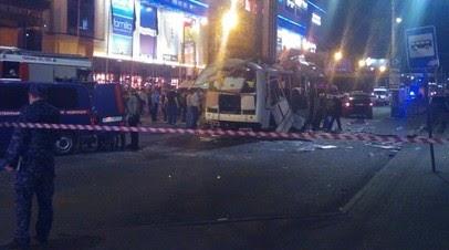 Число пострадавших при взрыве в воронежском автобусе возросло до 18