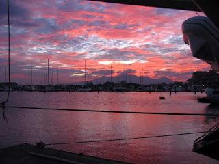 Subic Bay Sunset