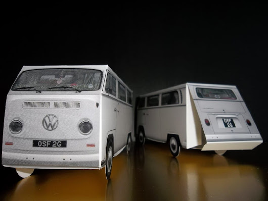 VW Camper Wedding Favours from Canny Campers - Buttercup Bus
