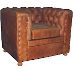 WINCHESTER GENUINE LEATHER SOFA CHAIR FURNITURE