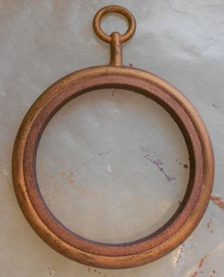 Frame with copper paint (648x800)