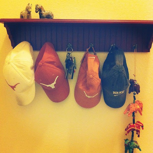 {Day 26} where the #keys (but mostly hats) live #marchphotoaday