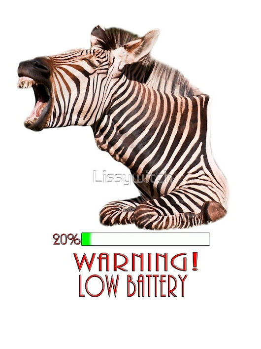 """Warning! Low Battery"" by Lissywitch 