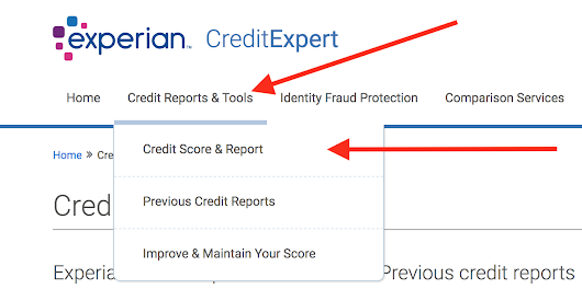 How to Download your Credit Report from Experian