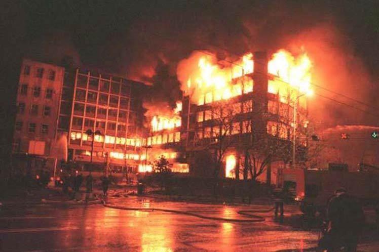 L'OTAN accusée de crimes en Serbie en 1999