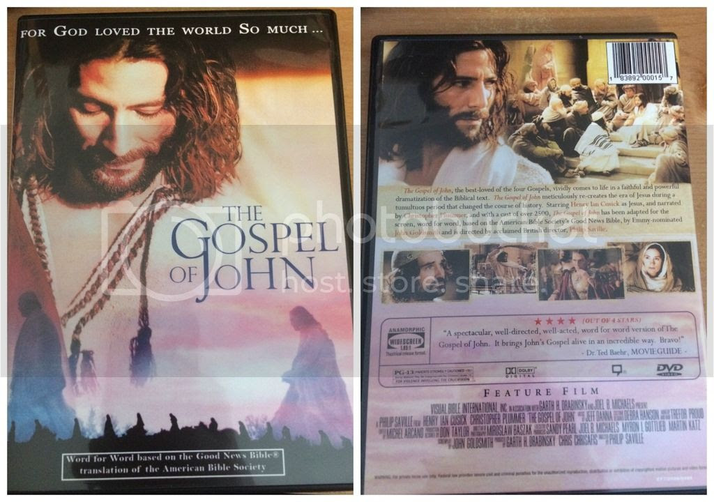 The Gospel of John DVD from FishFlix.com.
