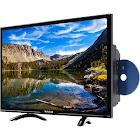 """Westinghouse - 32"""" Class (31.5"""" Diag.) - LED - 720p - HDTV - DVD Combo - Black"""