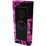 MightySkins RIVDPR2-Pink Flames Skin Compatible with Ring Video Doorbell Pro 2 - Pink Flames
