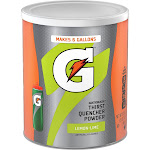 Gatorade G Series Thirst Quencher Instant Powder Mix, Lemon-Lime - 51 oz canister
