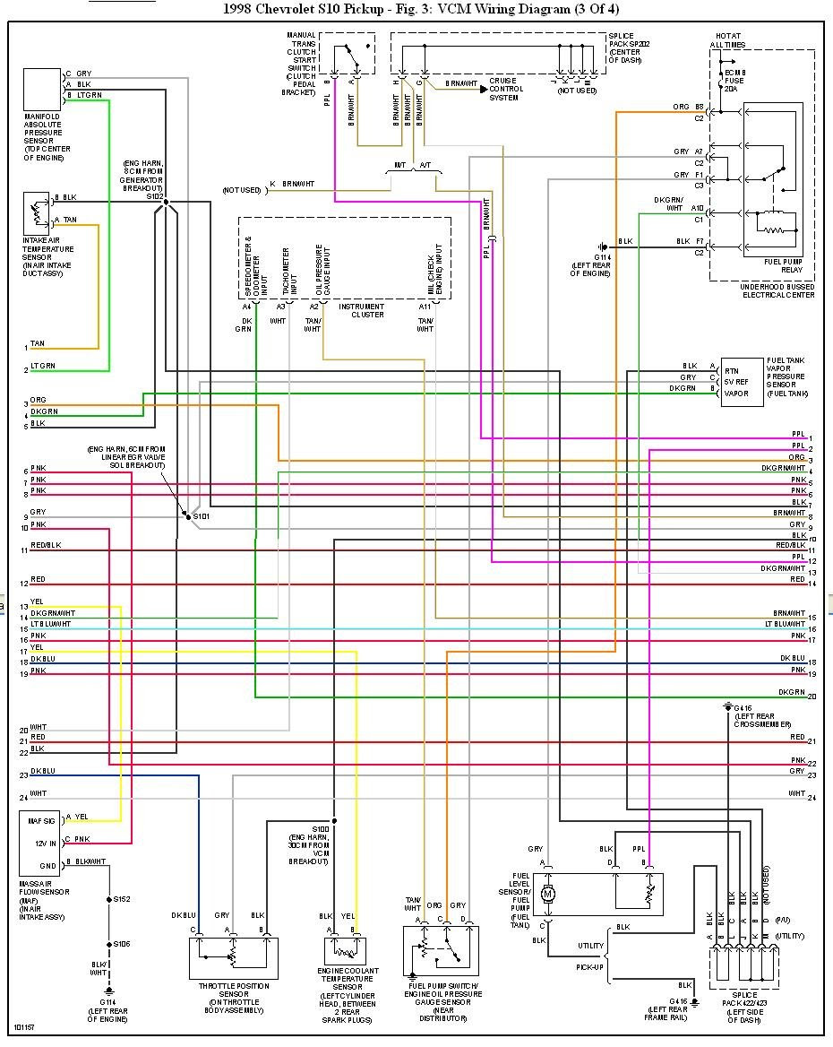 35 1998 Chevy S10 Fuel Pump Wiring Diagram - Wiring ...