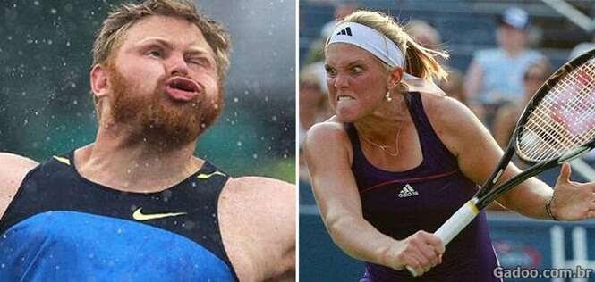 Atletas que deveriam ter levado o ouro na modalidade de caretas