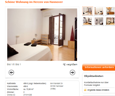 sch ne wohnung im herzen von hannover am marstall 24 30159 hannover. Black Bedroom Furniture Sets. Home Design Ideas