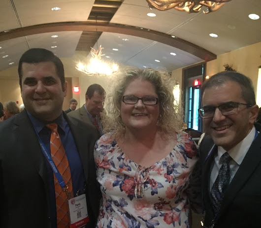 Dr. Shahryar Kavoussi and Dr. Parviz Kavoussi Meet Louise Brown – First Person Born After Conception via IVF - Austin Fertility & Reproductive Medicine