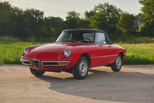 1967 Alfa Romeo Spider Duetto 1600 For Sale Classic
