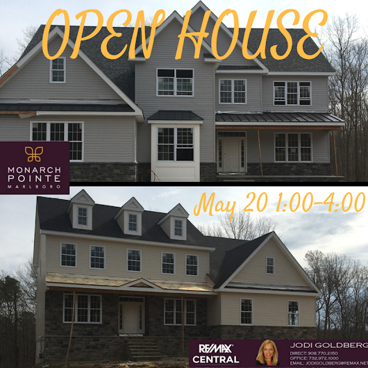 Monarch Pointe Marlboro OPEN HOUSE – May 20th