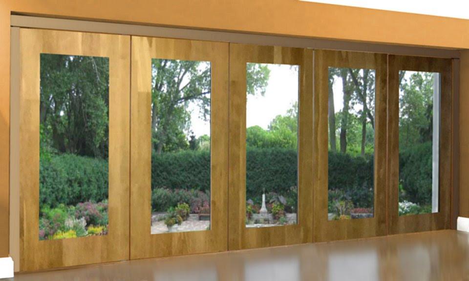 Best Patio Doors Non Warping Patented Wooden Pivot Door Sliding Door And Eco Friendly Metal Cores