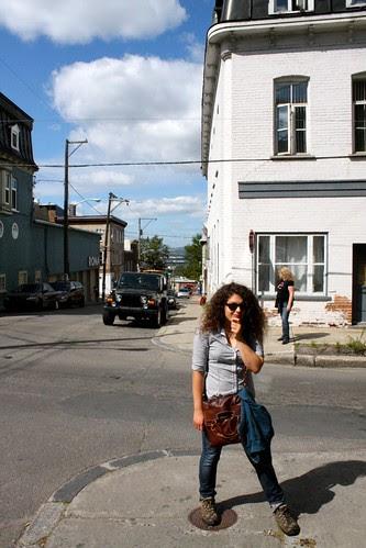 Québec Jour 2 - Blue Skies.