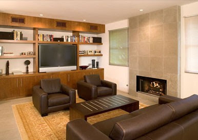 Ehrenclou Architects contemporary living room