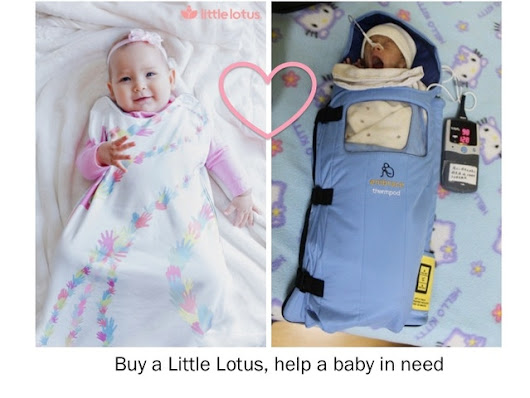 Little Lotus: the smart swaddle & blanket for your baby by Embrace Innovations — Kickstarter