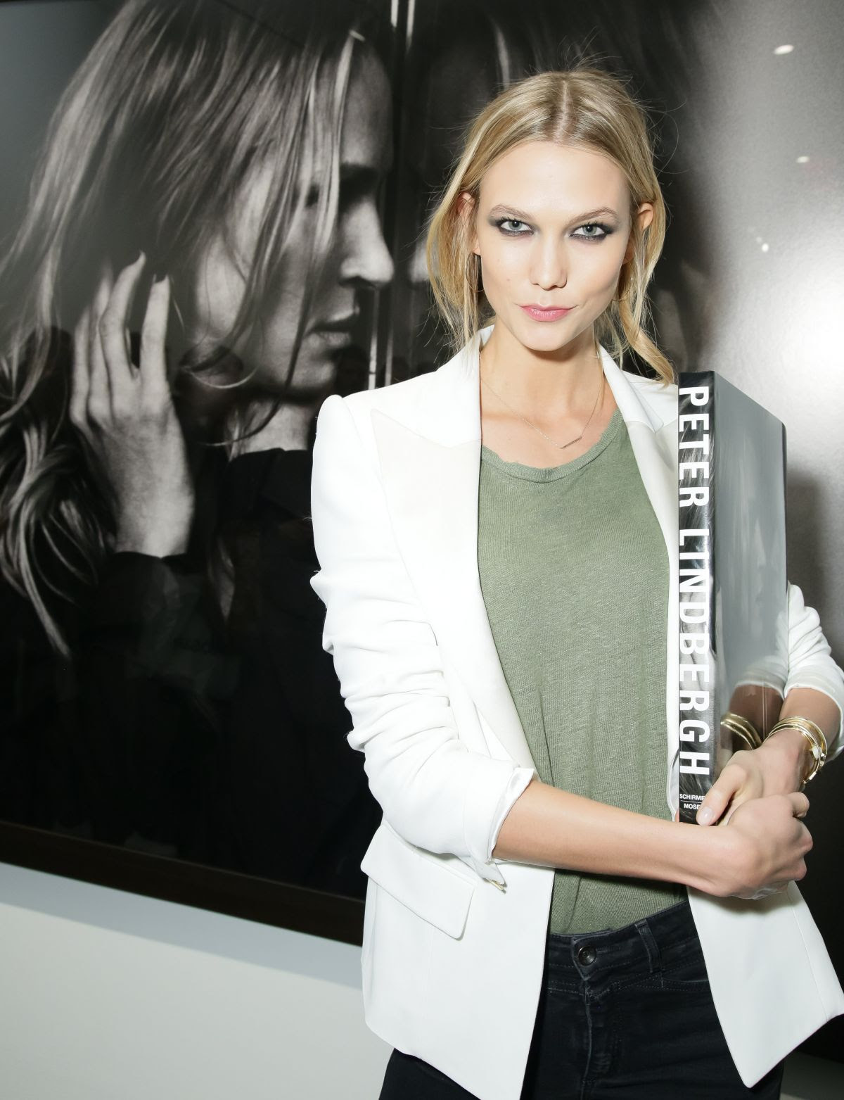 KARLIE KLOSS at Peter Lindbergh Book Signing in New York