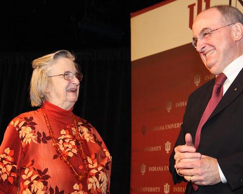 2009 Nobel economics laureate Elinor Ostrom