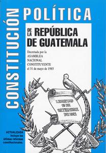Derecho Constitucional Guatemalteco Adín Jacob Girón