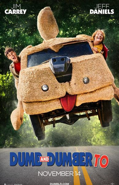 DUMB AND DUMBER TO theatrical poster.