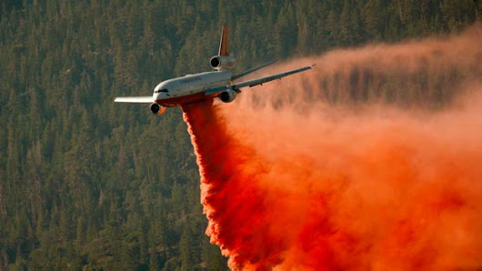 The jaw-dropping missions of fire-fighting pilots