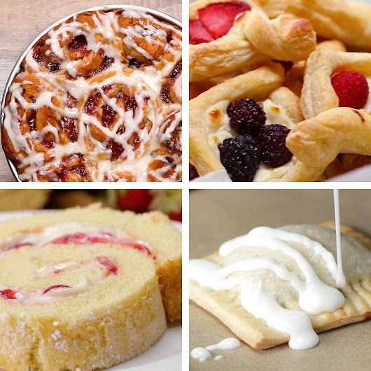 6 Heavenly Fruit-Filled Pastries by Tasty