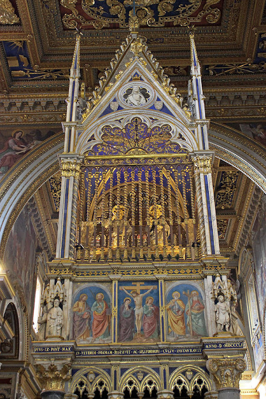 The Basilica Of Saint John Lateran by Tony Murtagh