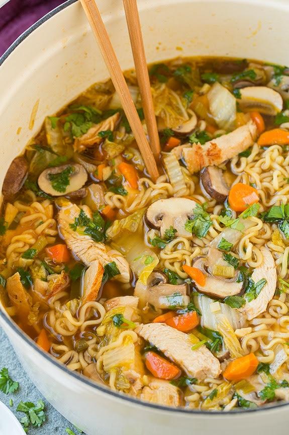 spicy chicken noodle soup recipe egg noodles