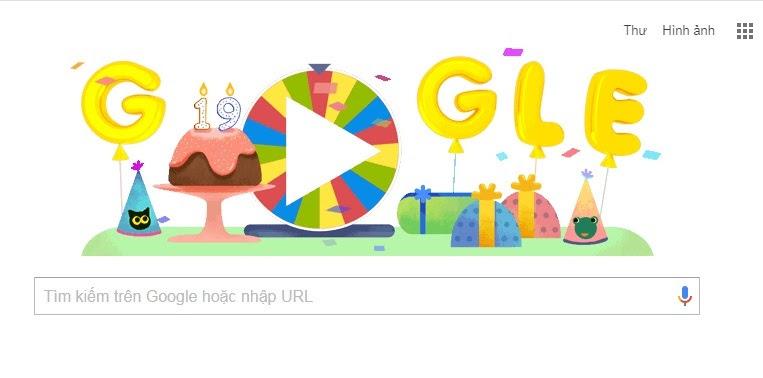 Google, Sinh nhật