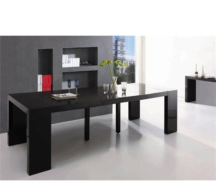 Decorar cuartos con manualidades consola mesa extensible ikea - Mesa consola ikea ...