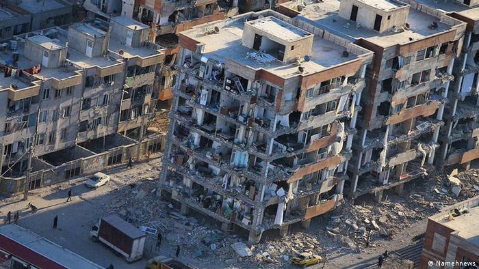 Iran Kermanshah Erdbeben (Namehnews)