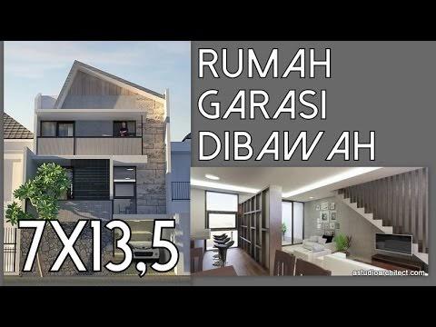 desain rumah 1 lantai ukuran 8 x 12 - gambleh p