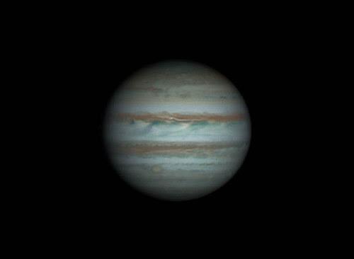Jupiter RRGB - 250214 - 21:20UTC by Mick Hyde