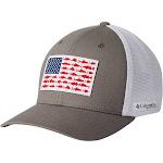 Columbia PFG Mesh Fish Flag Ball Cap
